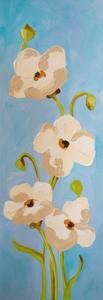 Panels-White Pink Blue 1 by Soraya Chemaly