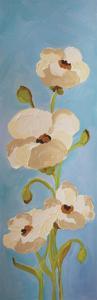 Panels-White Pink Blue 2 by Soraya Chemaly
