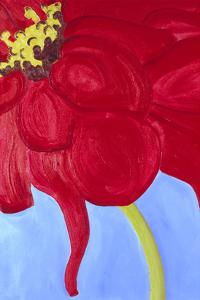 Red Zinnia by Soraya Chemaly