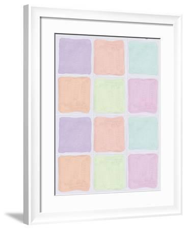 Sorbets-Maria Trad-Framed Giclee Print