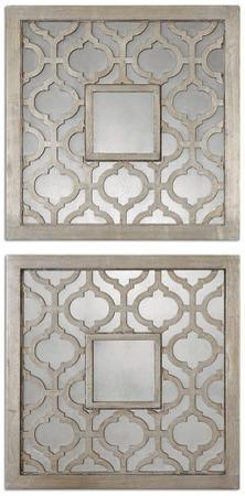Sorbolo Squares Decorative Mirror Set/2