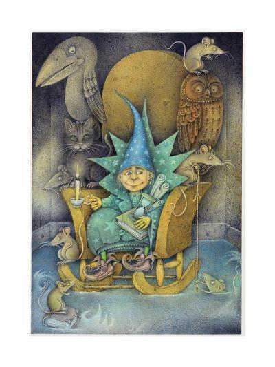 Sorcerer's Apprentice, 2000-Wayne Anderson-Giclee Print