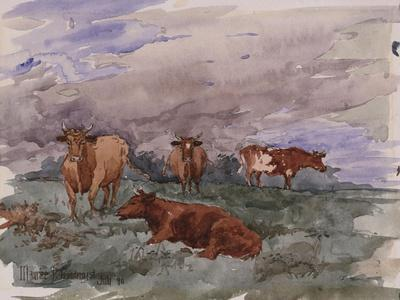 Cattle in a Landscape, 1890