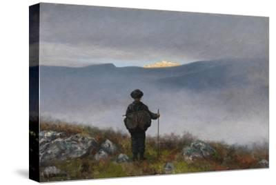Soria Moria Castle-Theodor Kittelsen-Stretched Canvas Print