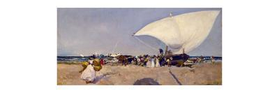 Arrival of the boats, 1893