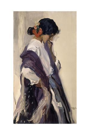 Gypsy woman, 1912