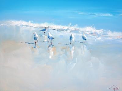 Sorrento Gulls-Craig Trewin Penny-Art Print