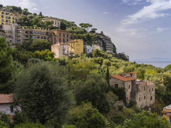 Sorrento in the Bay of Naples-enricocacciafotografie-Photographic Print