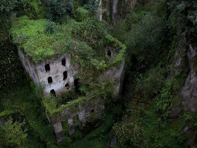 Sorrento, Italy: the Old Mill Located Near the Heart of Sorrento.-Ian Shive-Photographic Print