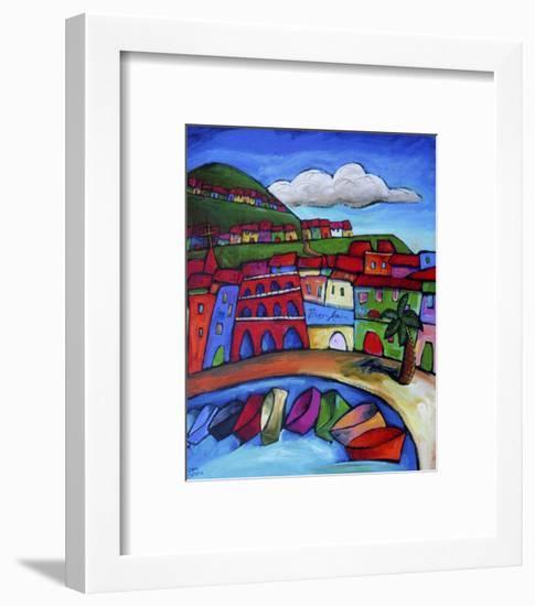 Sorrento, Italy-Sara Catena-Framed Giclee Print