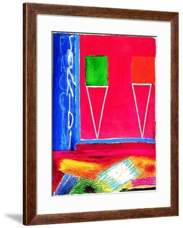 Sorridi Faccia-Nicola de Maria-Framed Art Print