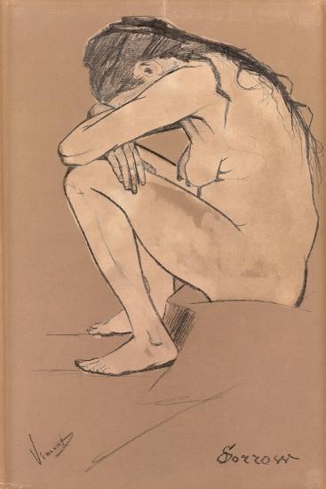 Sorrow, 1882-Vincent van Gogh-Giclee Print