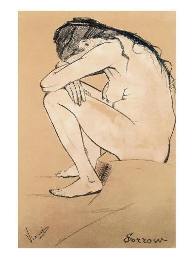 Sorrow-Vincent van Gogh-Premium Giclee Print