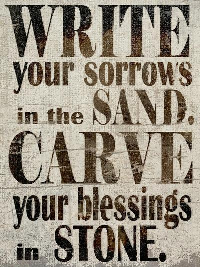 Sorrows in Sand-Karen Williams-Giclee Print