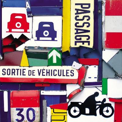 Sortie de Vehicules-Fernando Costa-Art Print
