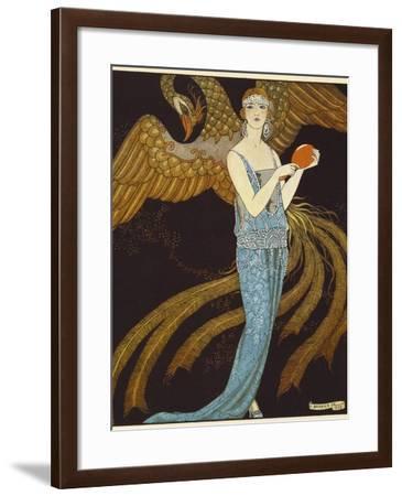 Sortileges from Gazette Du Bon Ton, France, 1922--Framed Giclee Print