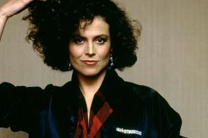 SOS Fantomes Ghostbusters by IvanReitman with Sigourney Weaver, 1984 (photo)