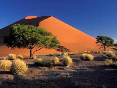 Sossosvlei Dunes, Namib-Naukluff Park, Namibia-Art Wolfe-Photographic Print