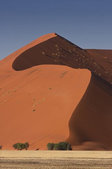 Sossusvlei, Namibia. Red Sand Dunes-Janet Muir-Photographic Print