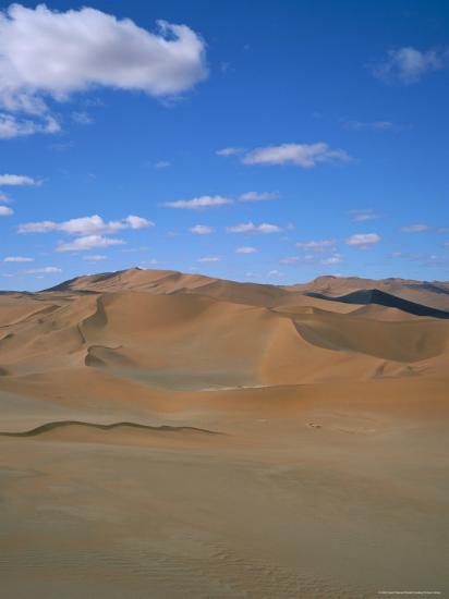 Sossusvlei Sand Dunes, Namib Naukluft Park, Namibia, Africa-Geoff Renner-Photographic Print