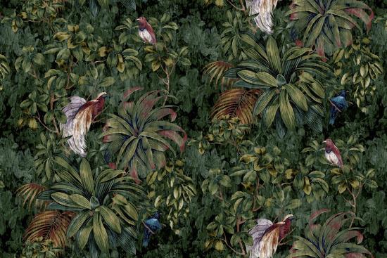 Sothern Bop Forest Green-Bill Jackson-Giclee Print