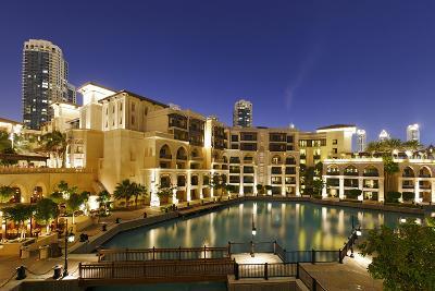 Souk Al Bahar, Downtown Dubai, Dubai, United Arab Emirates-Axel Schmies-Photographic Print