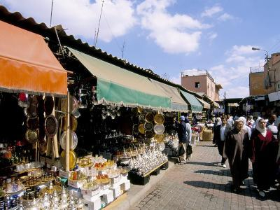 Souk, Marrakech (Marrakesh), Morocco, North Africa, Africa-Sergio Pitamitz-Photographic Print