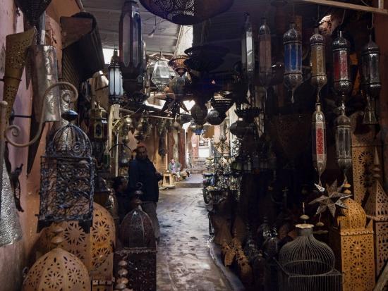 Souk, Marrakech (Marrakesh), Morocco, North Africa, Africa-Nico Tondini-Photographic Print