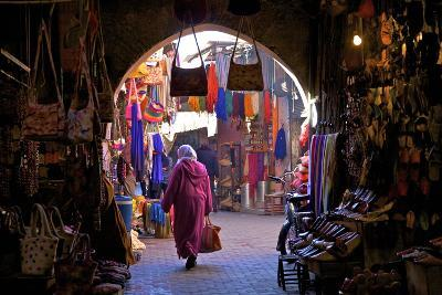 Souk, Marrakech, Morocco, North Africa, Africa-Neil Farrin-Photographic Print