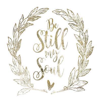 Soul Be Still 2-Melody Hogan-Art Print