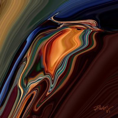 Soul Bird 9-Rabi Khan-Art Print