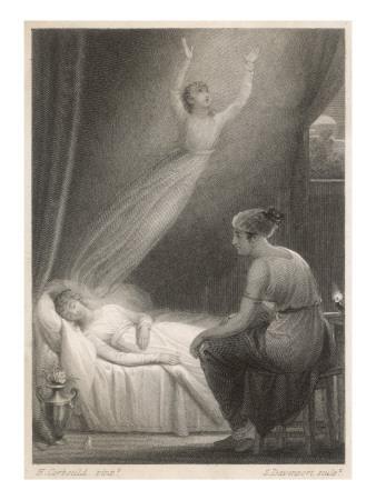 Soul Leaving Body--Giclee Print