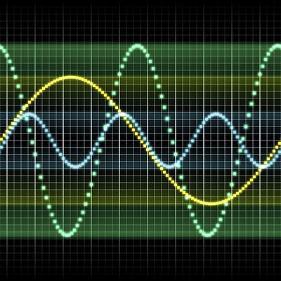 Sound Wave, Computer Artwork-PASIEKA-Premium Photographic Print