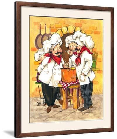 Soup Chefs-Jerianne Van Dijk-Framed Photographic Print