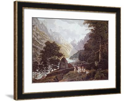 Source of Ganges, 1820-James Edwin Mcconnell-Framed Giclee Print
