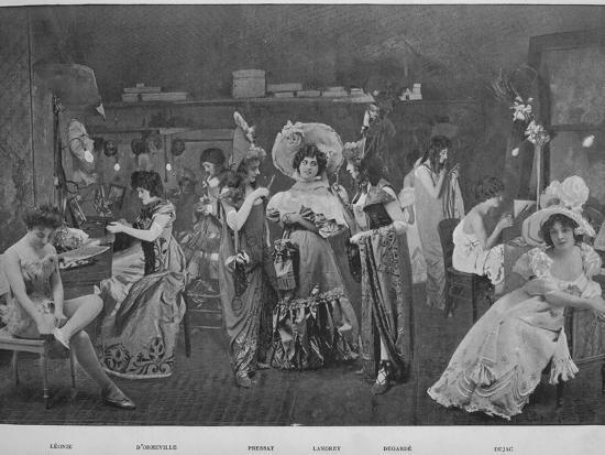 'Sous Les Armes', 1900-Unknown-Photographic Print