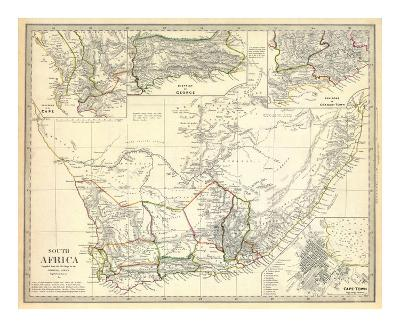 South Africa, c.1834--Art Print