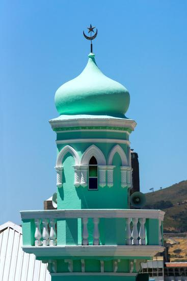 South Africa, Cape Town, Bokaap, Mosque-Catharina Lux-Photographic Print