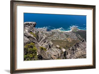 South Africa, Cape Town, View from the Table Mountain-Catharina Lux-Framed Photographic Print