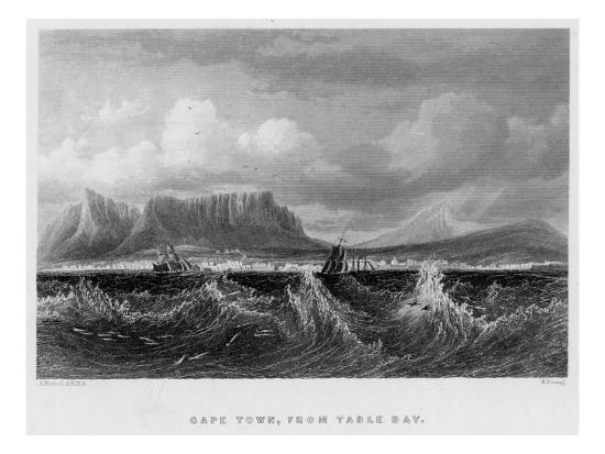 South Africa Cape Town--Giclee Print
