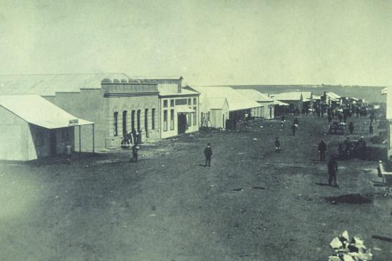 South Africa, Johannesburg, 1887--Giclee Print