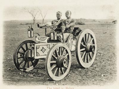 South Africa - Zululand - Car--Photographic Print
