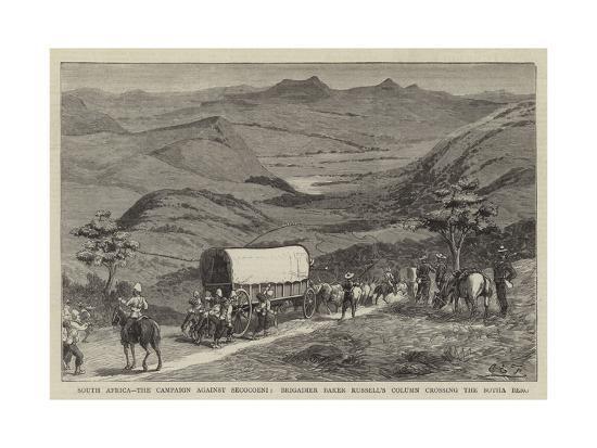 South Africa-Charles Edwin Fripp-Giclee Print