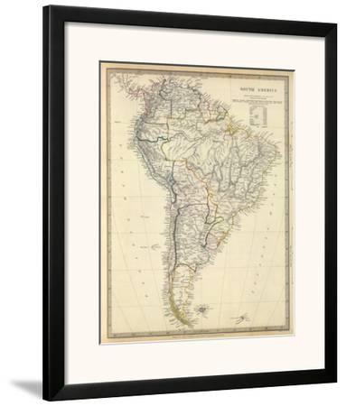 South America, c.1842