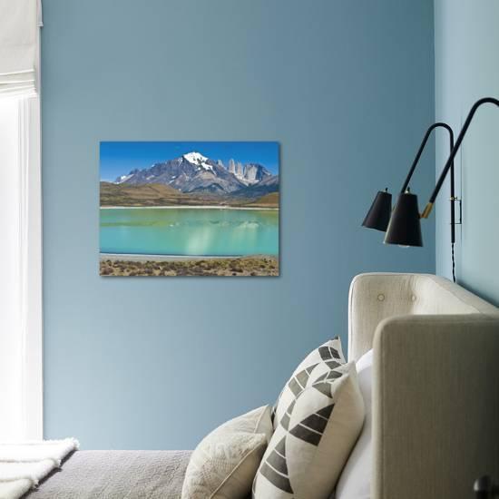 South America Chile Patagonia Torres Del Paine National Park Mountain Landscape Photographic Print Chris Seba Art Com