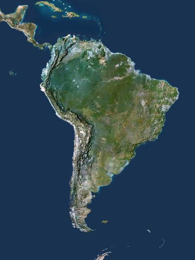 South America-PLANETOBSERVER-Photographic Print