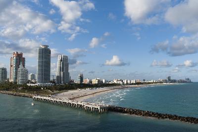 South Beach, Miami Beach, Florida, United States of America, North America-Sergio Pitamitz-Photographic Print