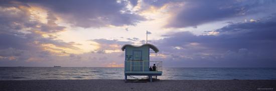 South Beach, Miami Beach, Florida, USA-Walter Bibikow-Photographic Print