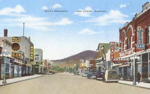 South Broadway, Red Lodge, Montana