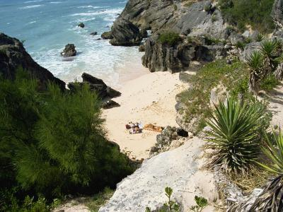 South Coast Beach, Bermuda, Atlantic Ocean, Central America-Harding Robert-Photographic Print